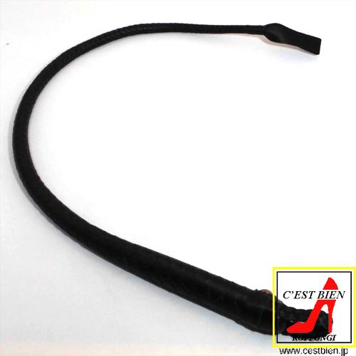 編込一本鞭 65cm(黒)