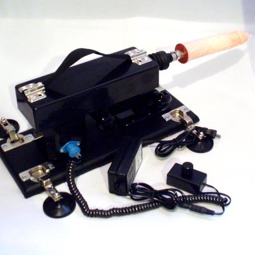 ピストン式電動ファッキングマシン(男女兼用)(ディルド35mm)