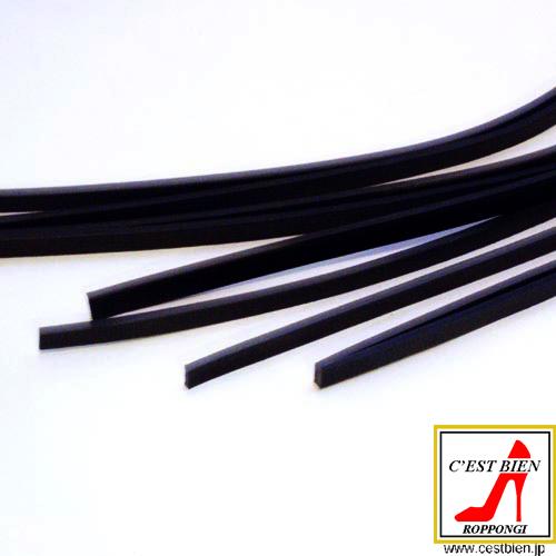 ハード九尾鞭(黒)