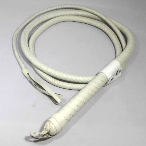 編込一本鞭 250cm(白)
