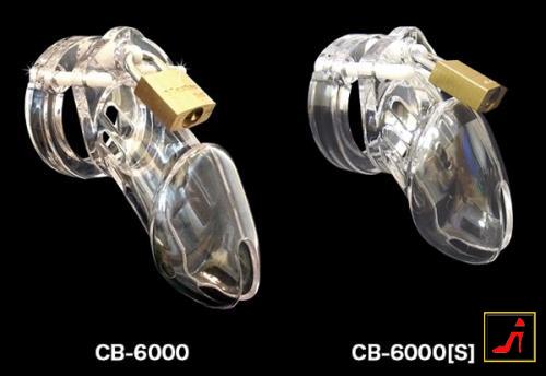 CB6000 男性用貞操帯 (クリア)