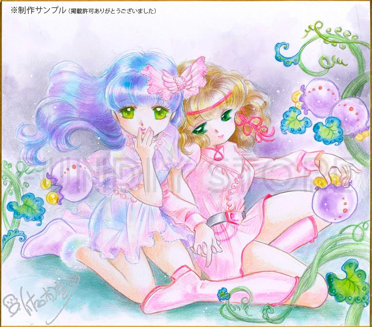 佐々木淳子先生 セミオーダーカラーイラスト色紙