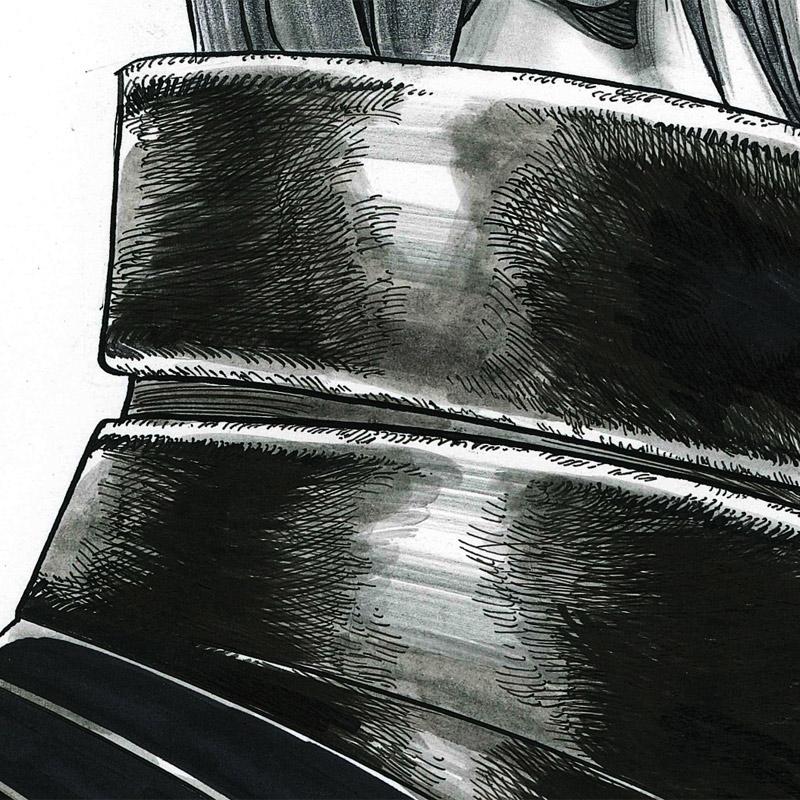 【限定1枚】叶精作 凍京NECRO�