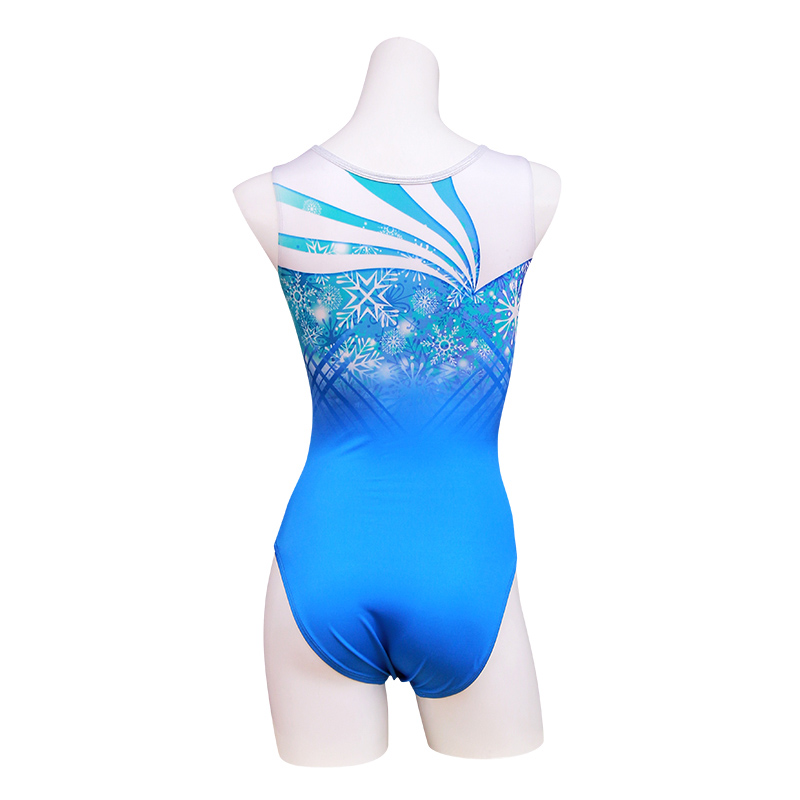 Snow crystal (Blue) タンクトップ