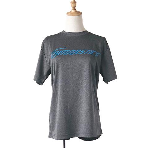 ジムナストTシャツ ミックスグレー