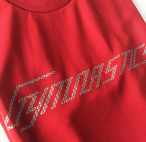 ジムナストTシャツ レッド