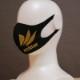 大人サイズマスク echter GOLD ロゴ
