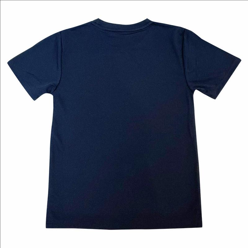 スパンコールTシャツ_紺echter