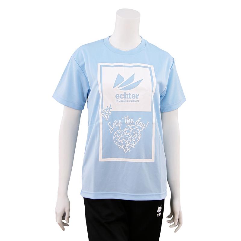 Seize the dayTシャツ(水色)