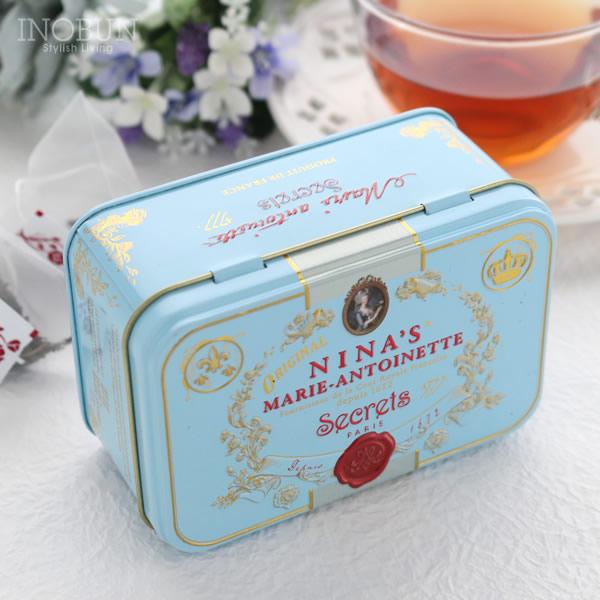 ニナス 紅茶 NINAS ダージリン Royal box for tea ティーバッグ缶 2.5g x 10袋