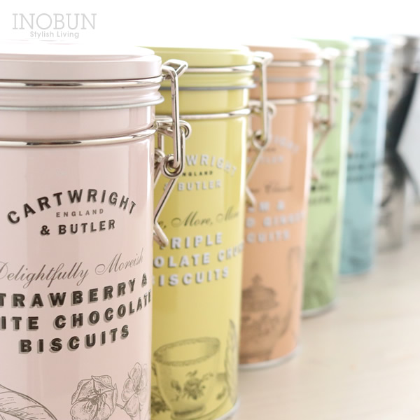 C&B カートライトアンドバトラー Cartwright&Butler 塩キャラメルビスケット イギリス お菓子 クッキー 缶 200g