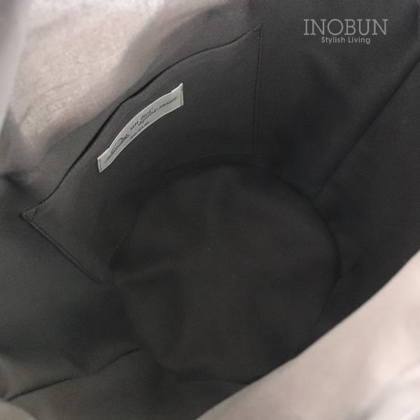 かごバッグ テーパードバッグ コロール イノブン別注 オリジナルチャーム付き グレー