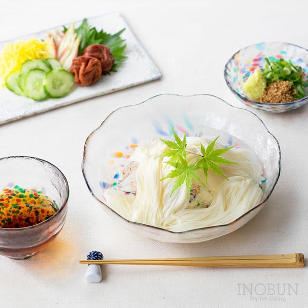 津軽びいどろ ねぶた 冷麺三昧 ギフト 日本製