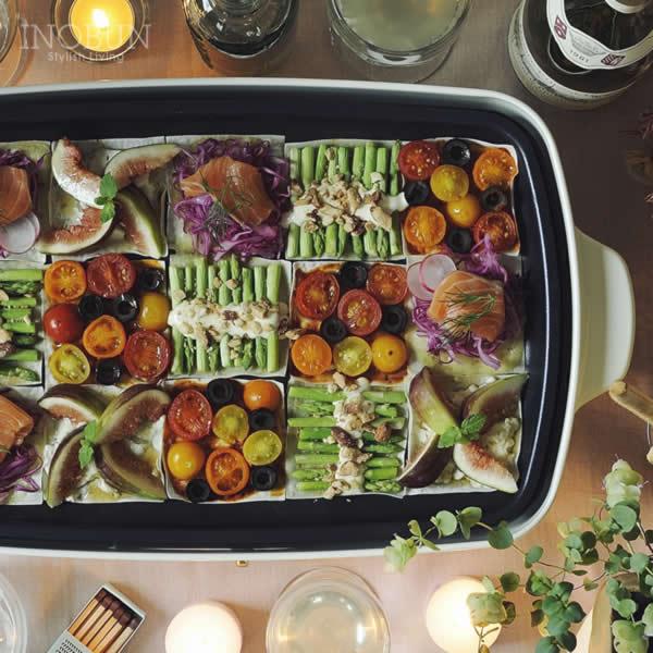 BRUNO ブルーノ ホットプレート たこ焼きプレート付き グランデサイズ ホワイト BOE026-WH 結婚祝い ギフト