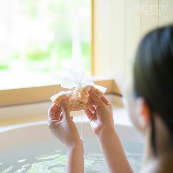 jiwajiwa じわじわ お風呂のハーブ 入浴剤 ゆず・レモングラス 1個入  手土産 内祝い お返し ギフト