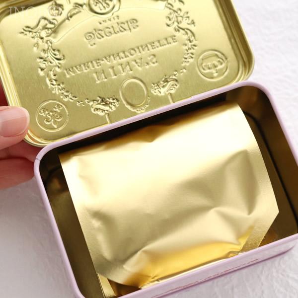 ニナス 紅茶 NINAS オリジナル マリーアントワネットティー Royal box for tea ティーバッグ缶 2.5g x 10袋 手土産 ギフト