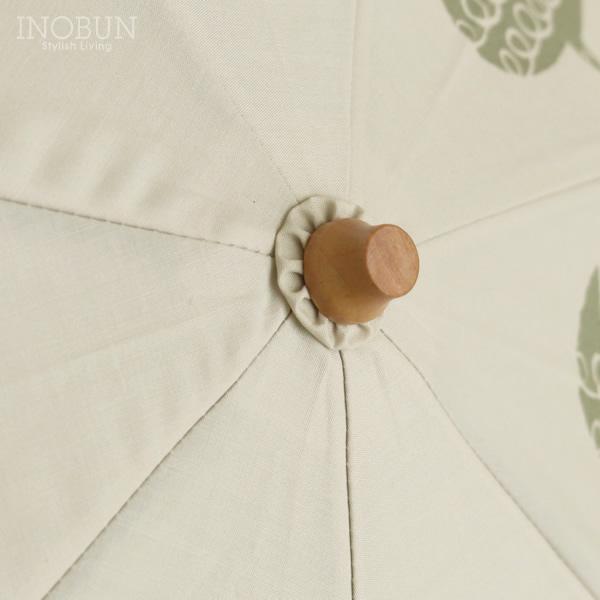 折りたたみ傘 バード bird ベージュ 晴雨兼用 392 plusm ミクニ 日傘 50cm