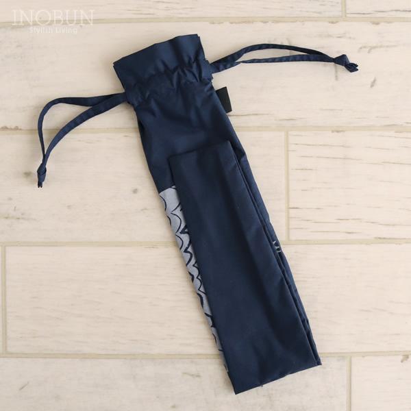 折りたたみ傘 バード bird ネイビー 晴雨兼用 392 plusm ミクニ 日傘 50cm