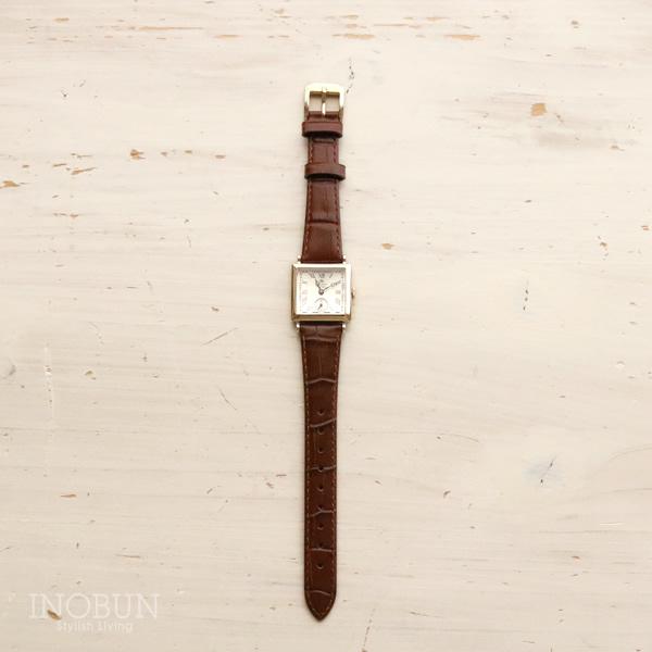 ロゼモン 腕時計 Nostalgia Rosemont N011-YWR EBR アンティークゴールド/ブラウンベルト(レザー)