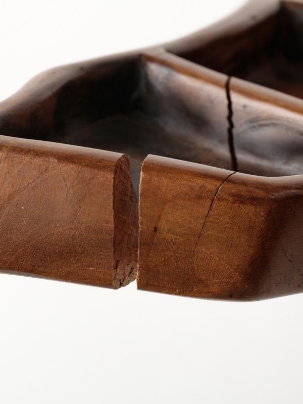 【50%OFF】インドネシア チーク材の小物入れ
