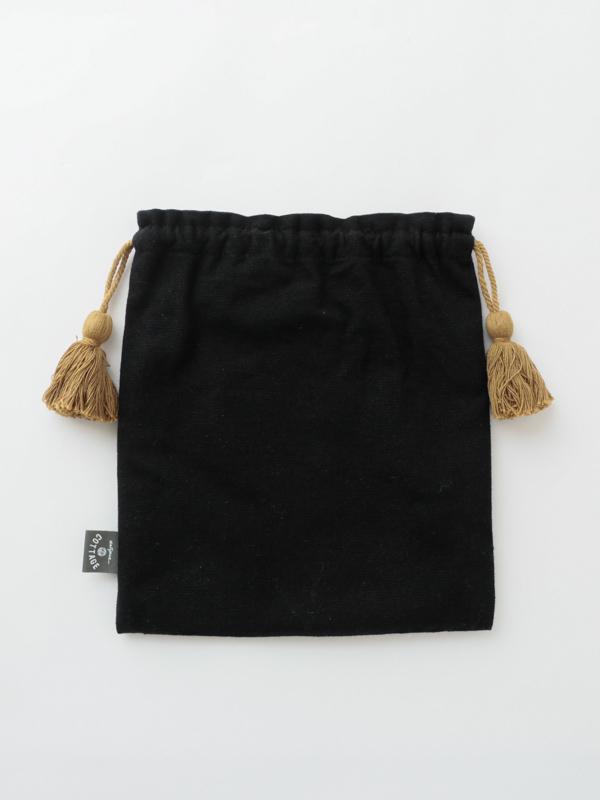 アニマル刺繍巾着L  M26-1744