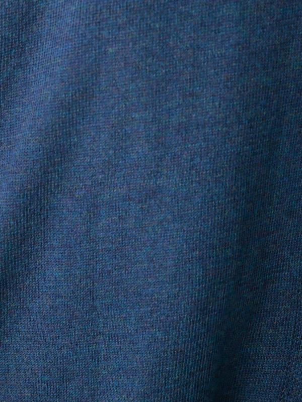 メリノウール混ニット ロングカーディガン 21W049