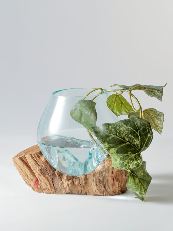 インドネシア 流木ガラスアクアリウム(小)B