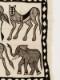 セヌフォ族 絵布(モノトーン)大