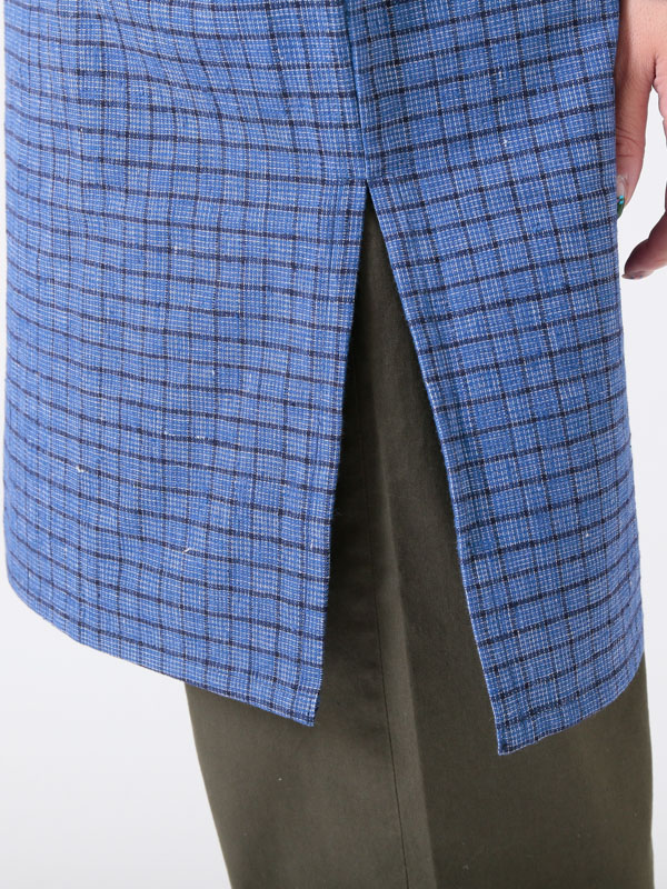 中国土布(手織綿布) ワンピース