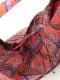 アフリカンプリントワンショルダーエコバッグ(4カラー) H21S303
