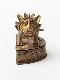 トーゴ ブラス(真鍮)ボックス ライオン(半円型)