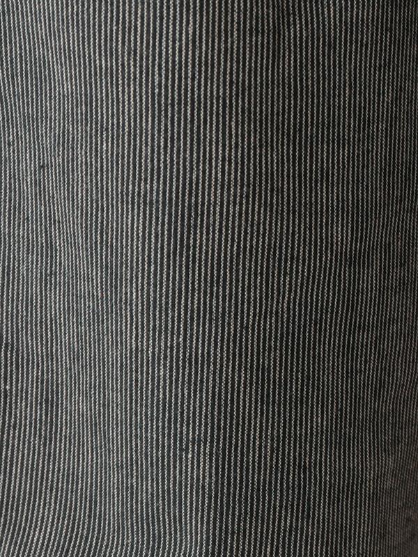 綿麻ピンストライプ パンツ 21W403