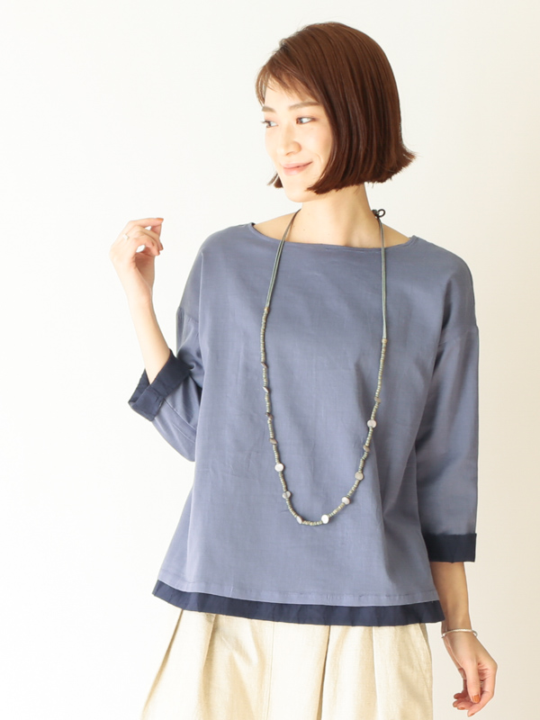 【30%OFF】シェルツブ1連ネックレス A21SPN002