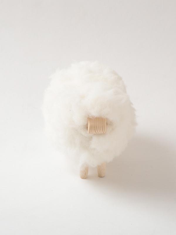 チュニジア ふわふわ羊の置物(小) A