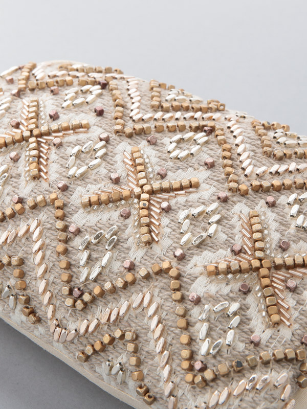 ビーズ刺繍ポーチ(3タイプ)
