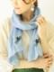 小花刺繍ショール B21S044