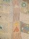 ウール泥染風プリントオンカンタショール B21W505BR