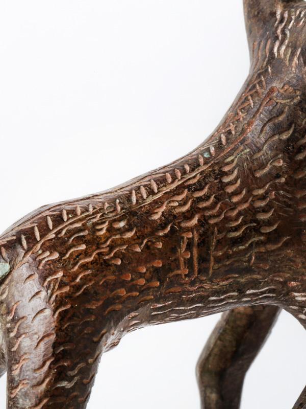 ベナン ブラス(真鍮)アニマル