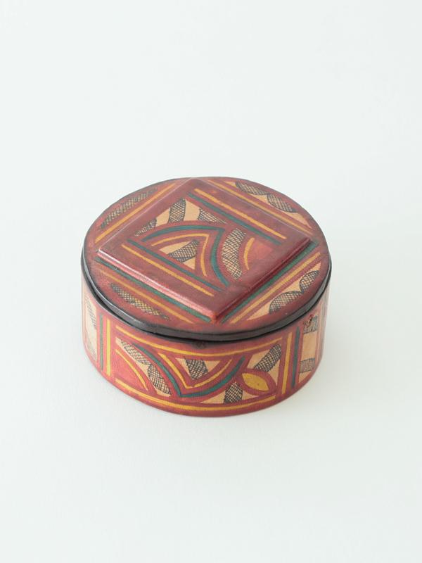 トゥアレグ族 レザーボックス(大)
