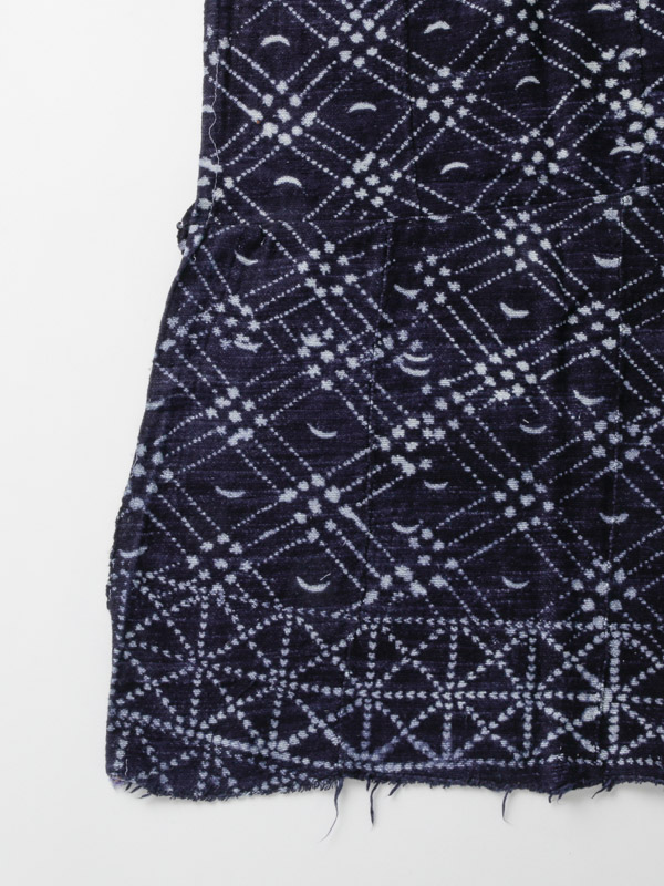ドゴン族 藍絞り布