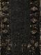 ウールジオメトリック柄カンタショール B21W512BK