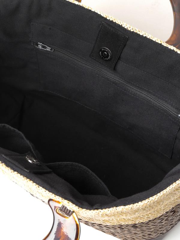 【30%OFF】シーグラスツートンバッグ(2カラー) H21S204