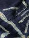 イボ族 藍絞り布C