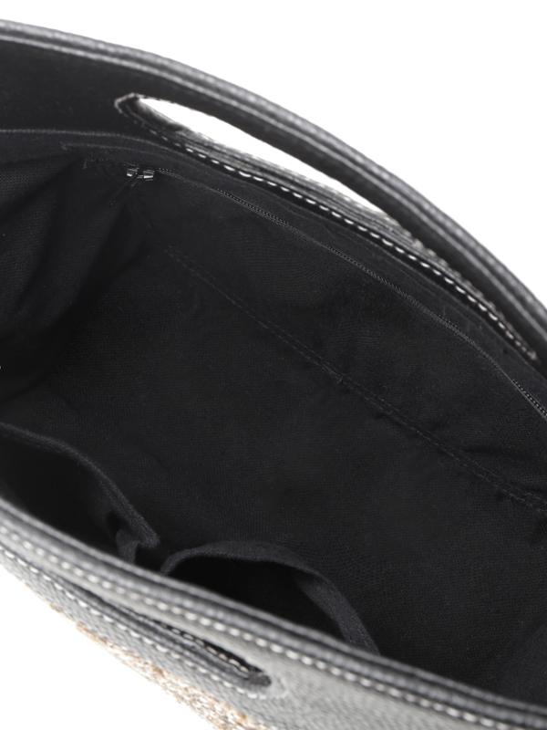 シーグラスホローハンドルバッグ(2カラー) H20S124