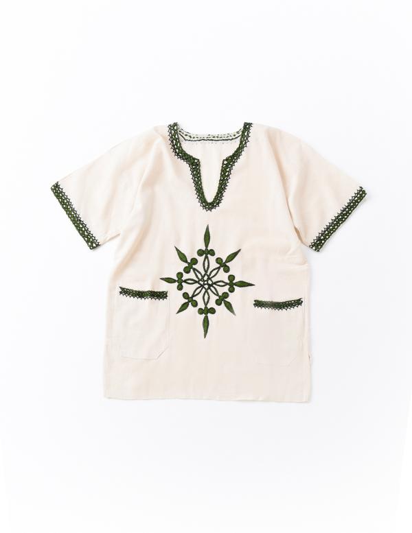 【SALE40】エチオピア 手刺繍チュニックA