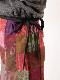 タイ マットミーシルクパッチワーク巻きスカート