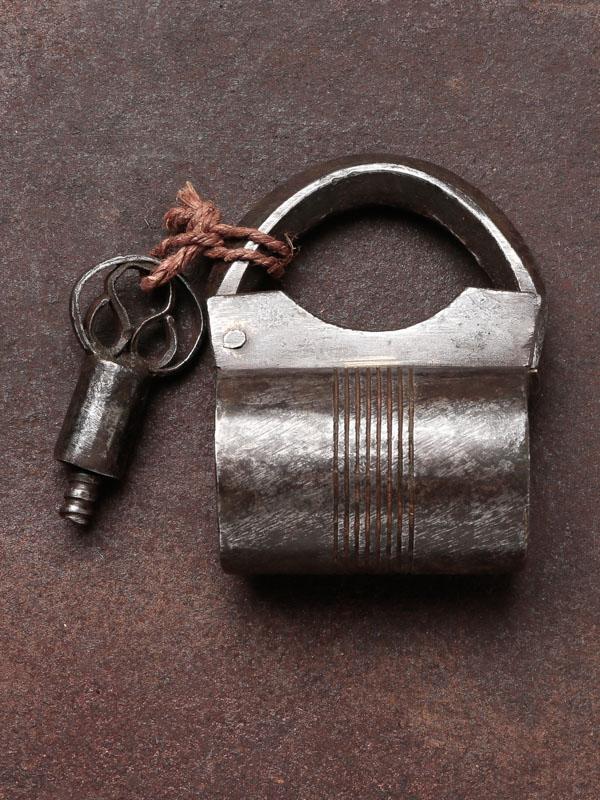 インド 錠前と鍵
