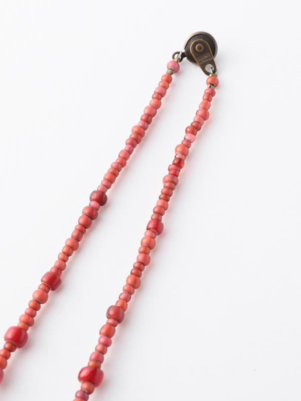 アンティーク ベネチア玉(白)  ネックレス