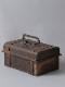 インド 蓋つき木箱