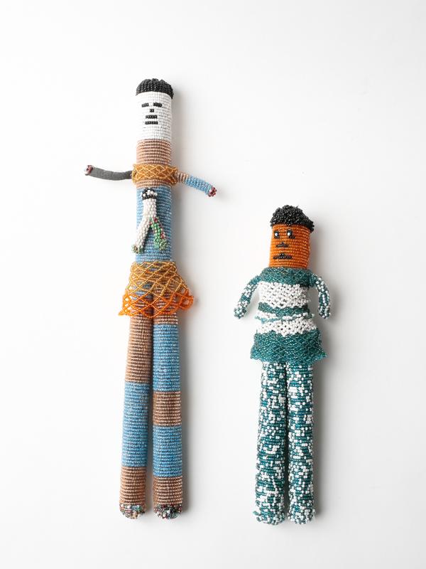 南アフリカ共和国 ビーズ人形